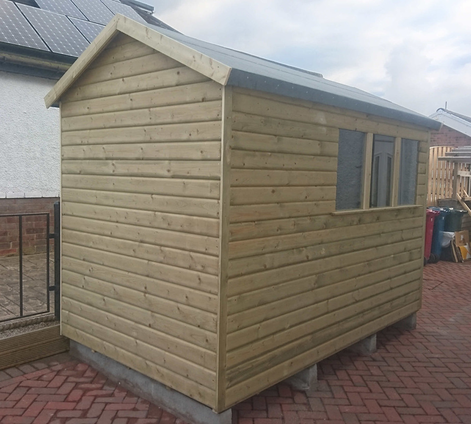 bespoke sheds made at longsight nursery langho - Garden Sheds Oldham