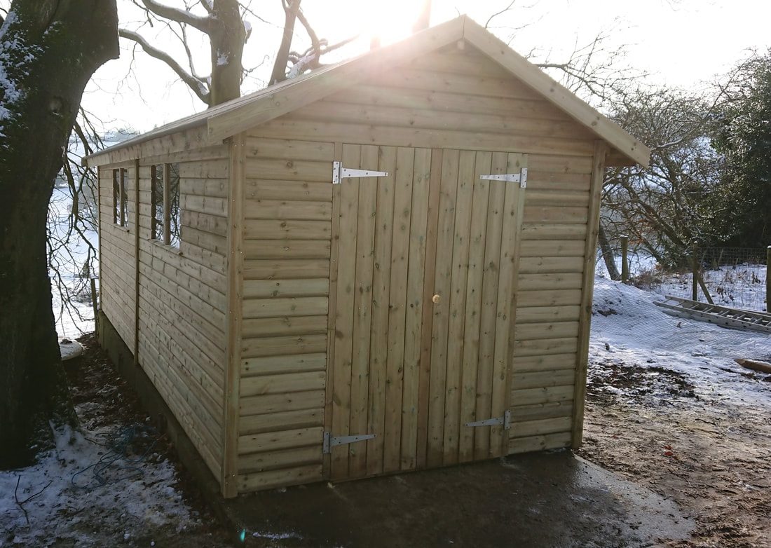 Bespoke Sheds Longsight Nursery Langho Ribble Valley
